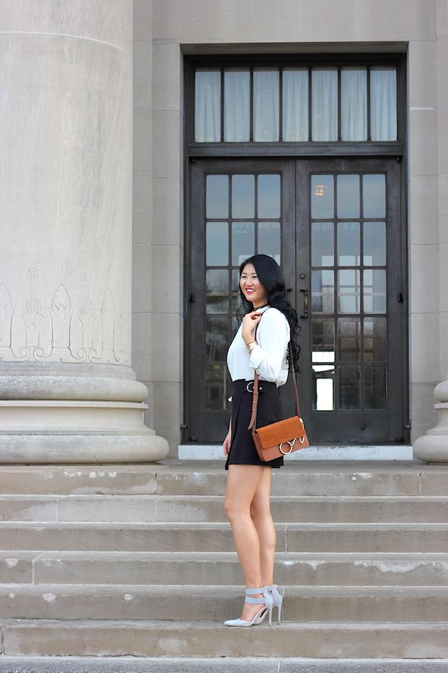 Simply Duo Style: Favorite Jewelry Line + Navy Skirt!
