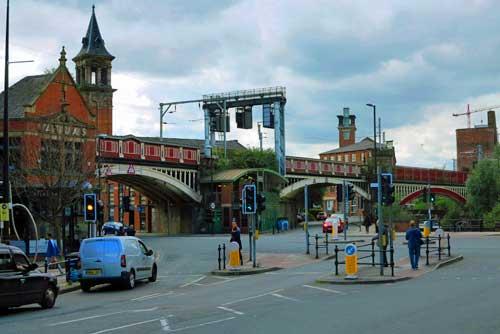 Deansgate Station Manchester UK.