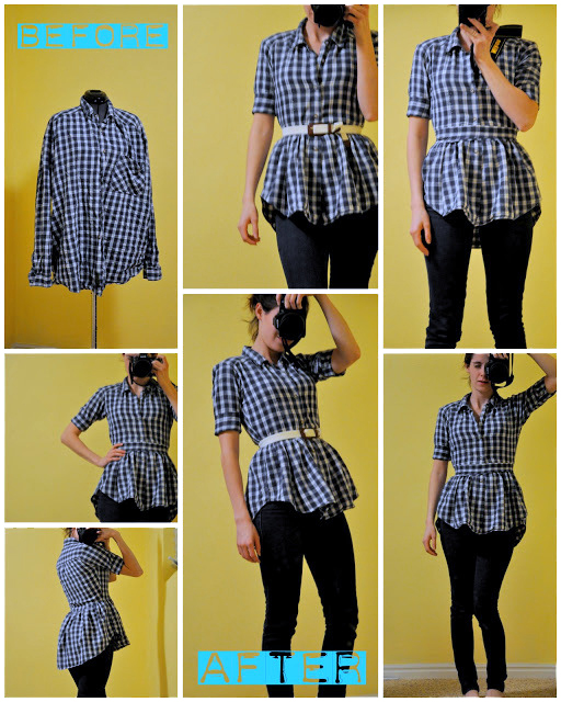 camiseta, transformación, volantes, refashion, diy, bricomoda, labores, costura