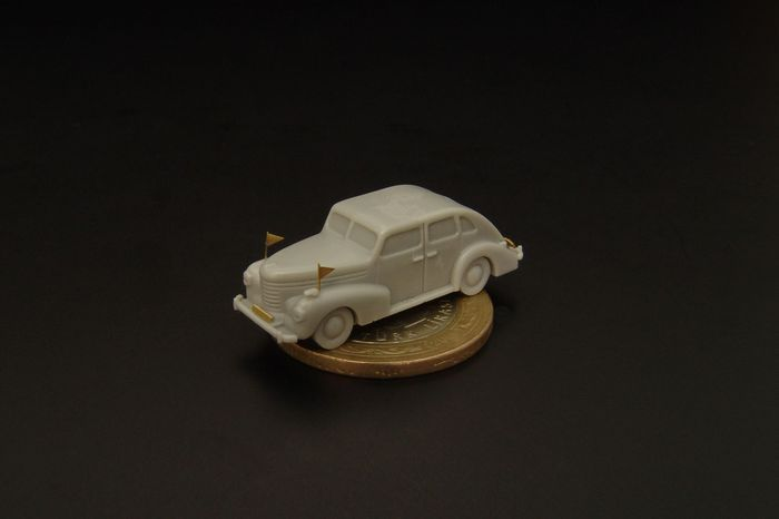 2 # 144034 Brengun 1//144 German Staff Car-HARDTOP