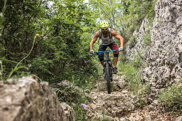 MTB - Lovranska Draga - Ucka Gebirge Istrien - Mountainbiken in Kroatien