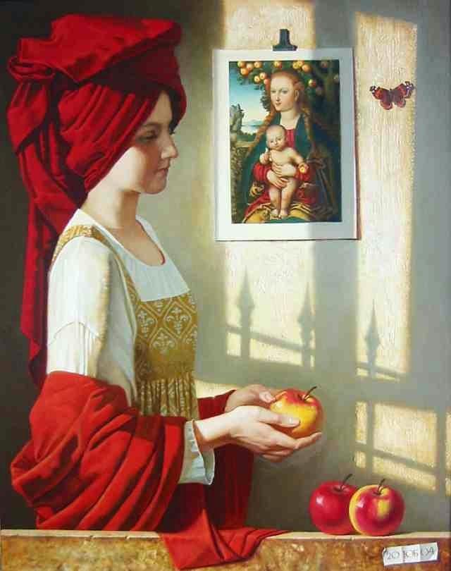 Российская художница. Юлия Бекхова