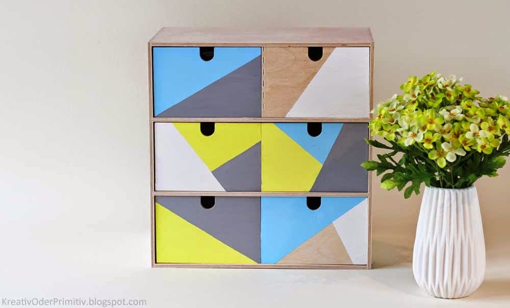 kreativ oder primitiv mini kommode ikea moppe. Black Bedroom Furniture Sets. Home Design Ideas
