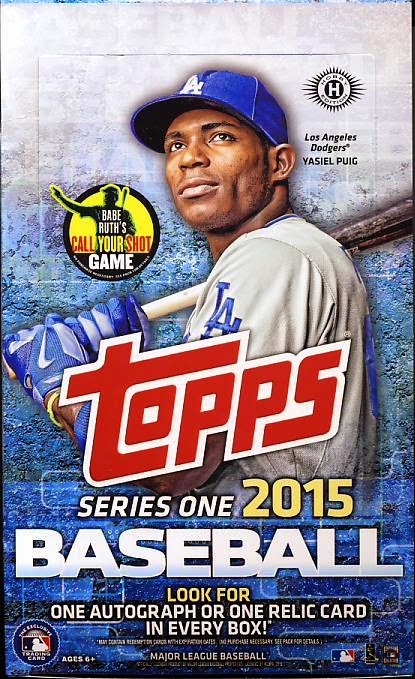 All About Sports Cards 2015 Topps Baseball Series 1 Baseball Cards
