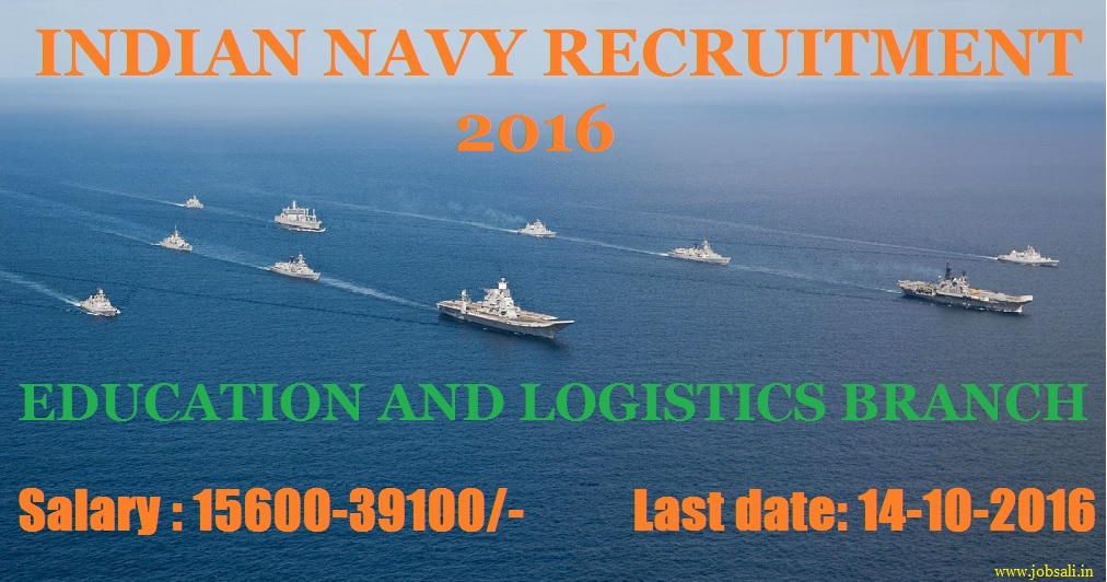 Indian navy career, jobs in Indian Navy