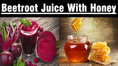 Beetroot Juice with Honey
