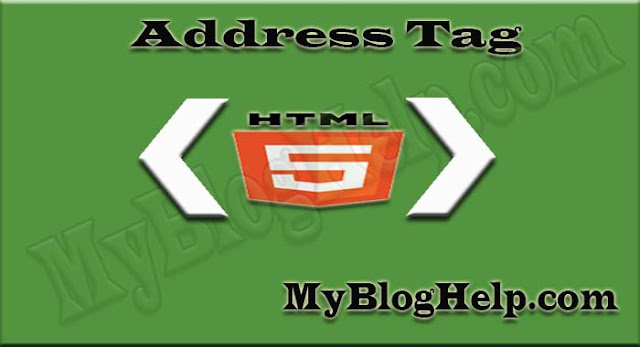 html-address-tag
