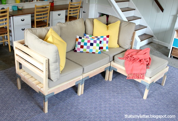 diy modular sofa