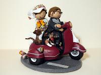 orme magiche migliori cake topper su commissione scultura sposi sposini torta nuziale decorazione personalizzate scolpite modellini