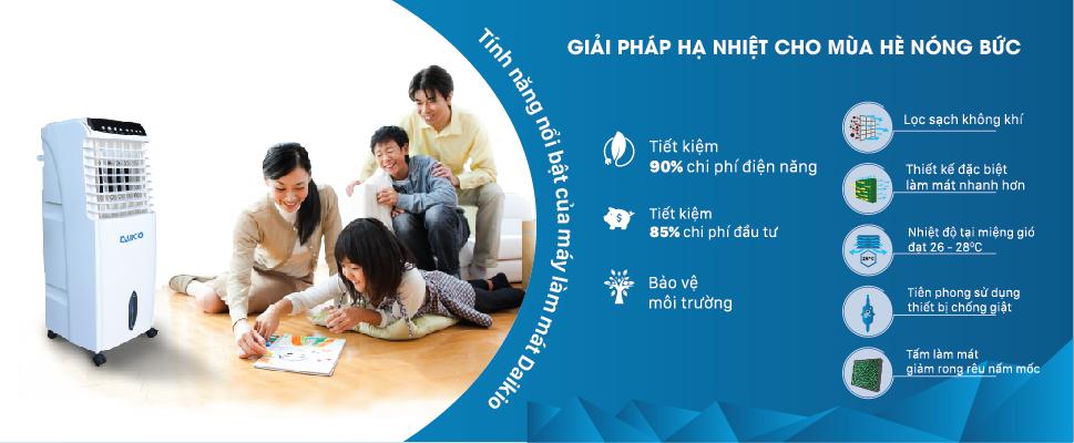 Máy làm mát Daikio- Máy làm mát số 1 Việt Nam
