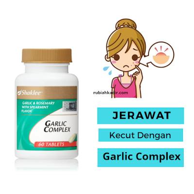 Atasi Jerawat Dengan Garlic Complex
