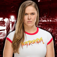 Ronda Rousey Celebrates Her WrestleMania Debut With Kurt Angle