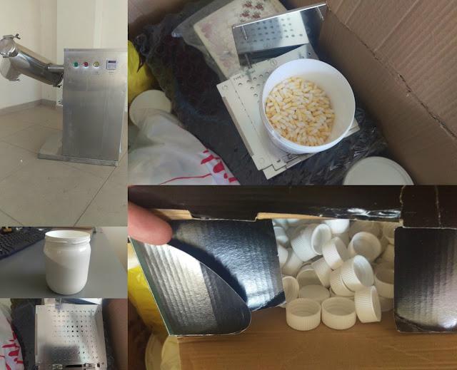 Και παράνομο εργαστήριο παρασκευής αναβολικών ουσιών τα δύο άτομα που συνελήφθησαν με 250 κιλά χασίς