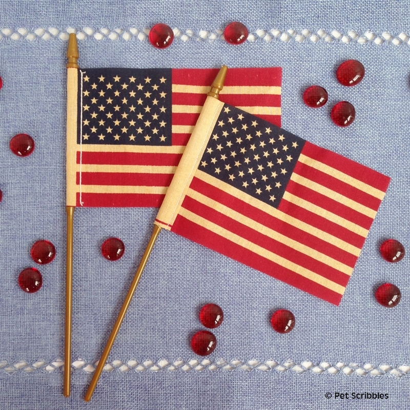 tea stain flags