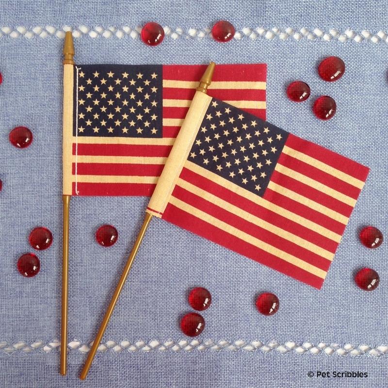 tea stain flags