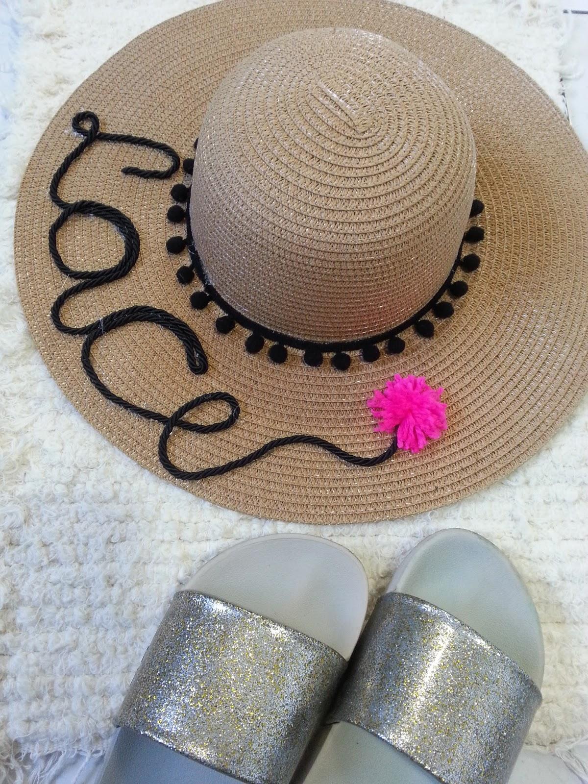 Lace Moraes  DIY  Chapéu de Praia Personalizado 401a444a4f3