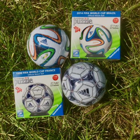 3D FIFA World Cup Official Match Ball Puzzles
