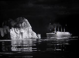 Titanic 1953 disaster iceberg sinking