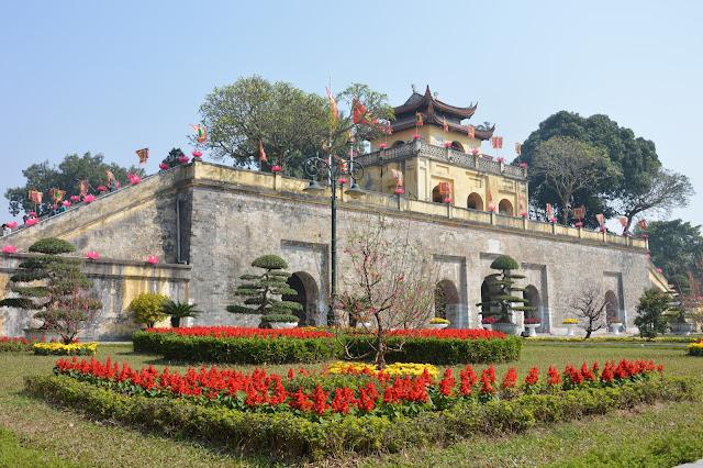 Cité impériale à Hanoi
