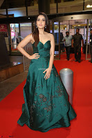 Raashi Khanna in Dark Green Sleeveless Strapless Deep neck Gown at 64th Jio Filmfare Awards South ~  Exclusive 128.JPG