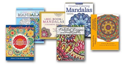 Mandala Happiness Coloring Books: Top Ten Mandala Adult ...