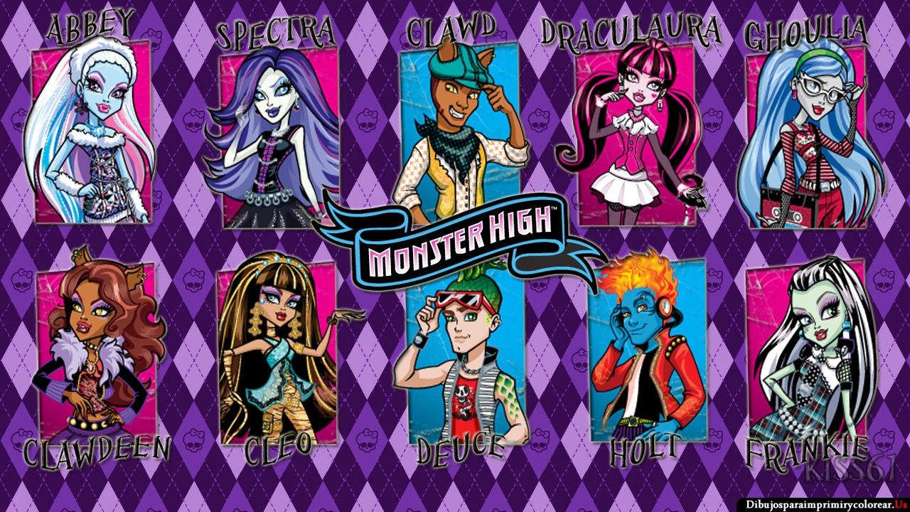 Fondos De Pantalla De Monster High: Fondos De Pantalla De Monster High