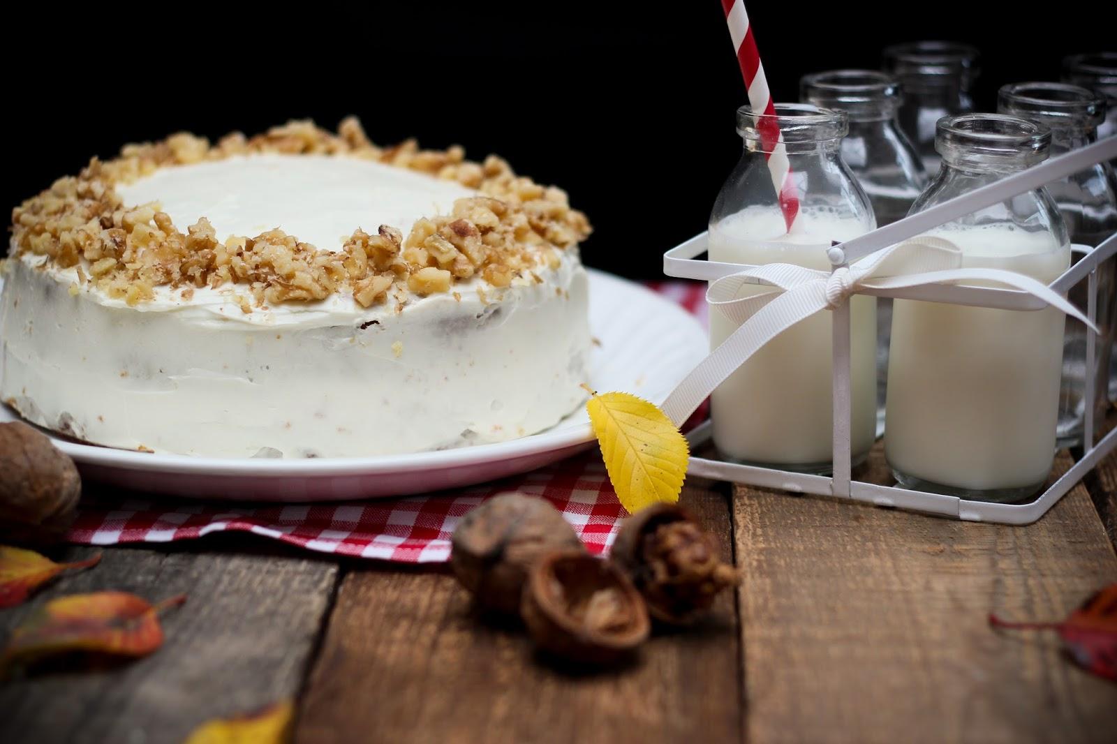Recette facile du carrot cake et son délicieux glaçage