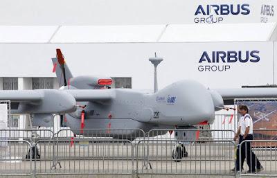 UAV MALE Israel HERON TP