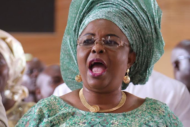 Patience Jonathan calls on Nigerian women to leave kitchen