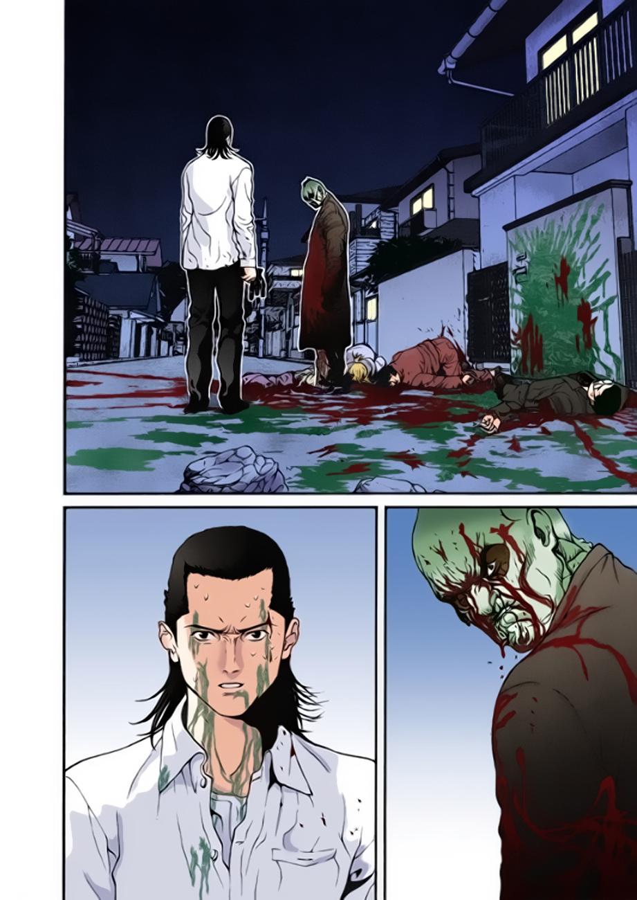 Gantz Chap 11: Tất cả đều chết trang 14