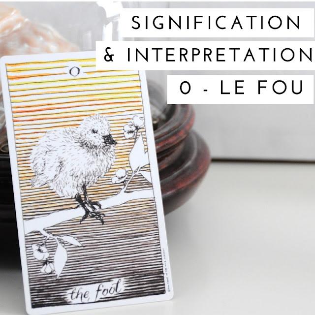 Le fou - The wild unknown tarot