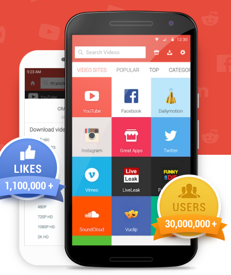 SnapTube for Android v4 7 1 APK Download [Latest] - ApkDraft