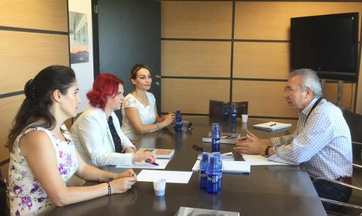 El aeropuerto de Castellón aborda con una delegación rumana la mejora de la conectividad con Rumanía