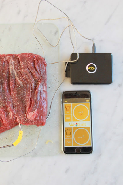 www.desmaakvancecile.com - Review: WeGrill One BBQ thermometer met smartphone app + WIN actie!