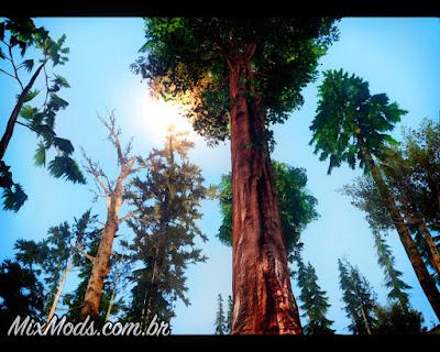 gta sa vegetação em hd árvores