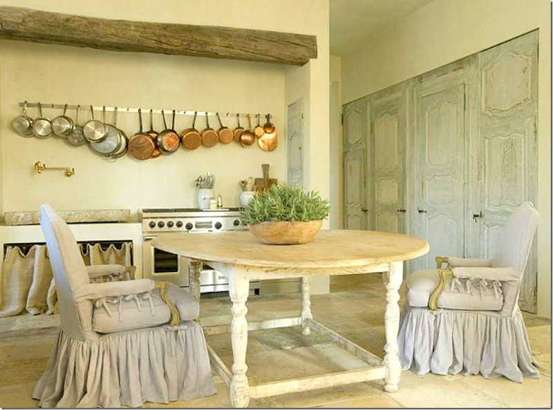 Pam Pierce beautiful kitchen French interior design