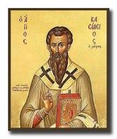 святой целитель Василий Новый