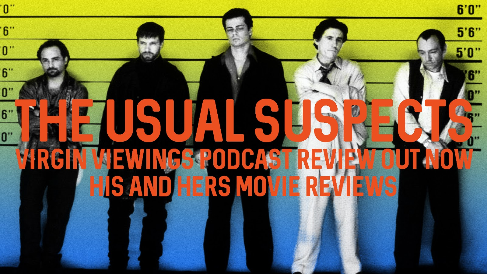 a review of the movie the usual suspects Review: if the usual suspects was a guy in a bar, it would be the bourbon-soaked philosopher who spins elegantly cynical shaggy-dog stories that seem far less compelling in the light of the.