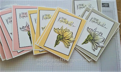 Paperjay Crafts, Remarkable You Stamp Set by Stampin Up