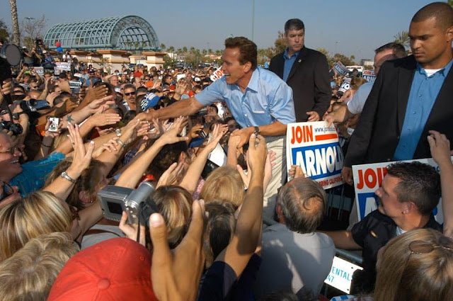 13 years ago the people of California put their trust in me to be their Governor