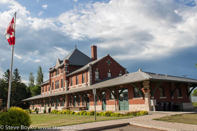 Train station in Dauphin, Manitoba