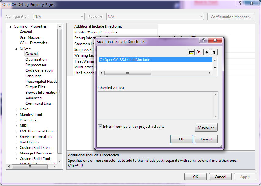 anlak: Using OpenCV 2 4 x with Visual Studio 2010 (tutorial)