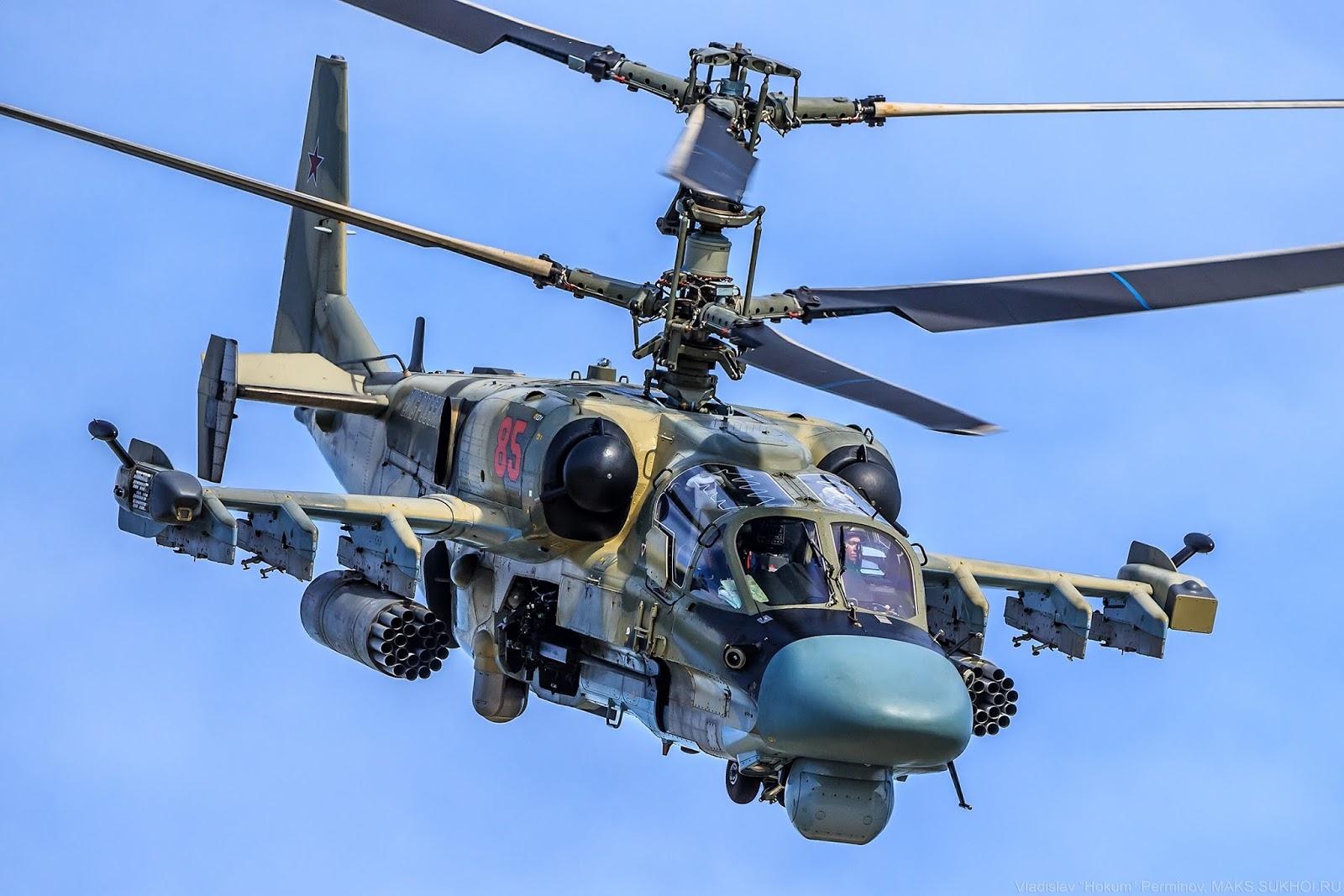 Em 2008 a Kamov lançou o Ka-52 'Alligator', uma versão aprimorada do Ka-50.