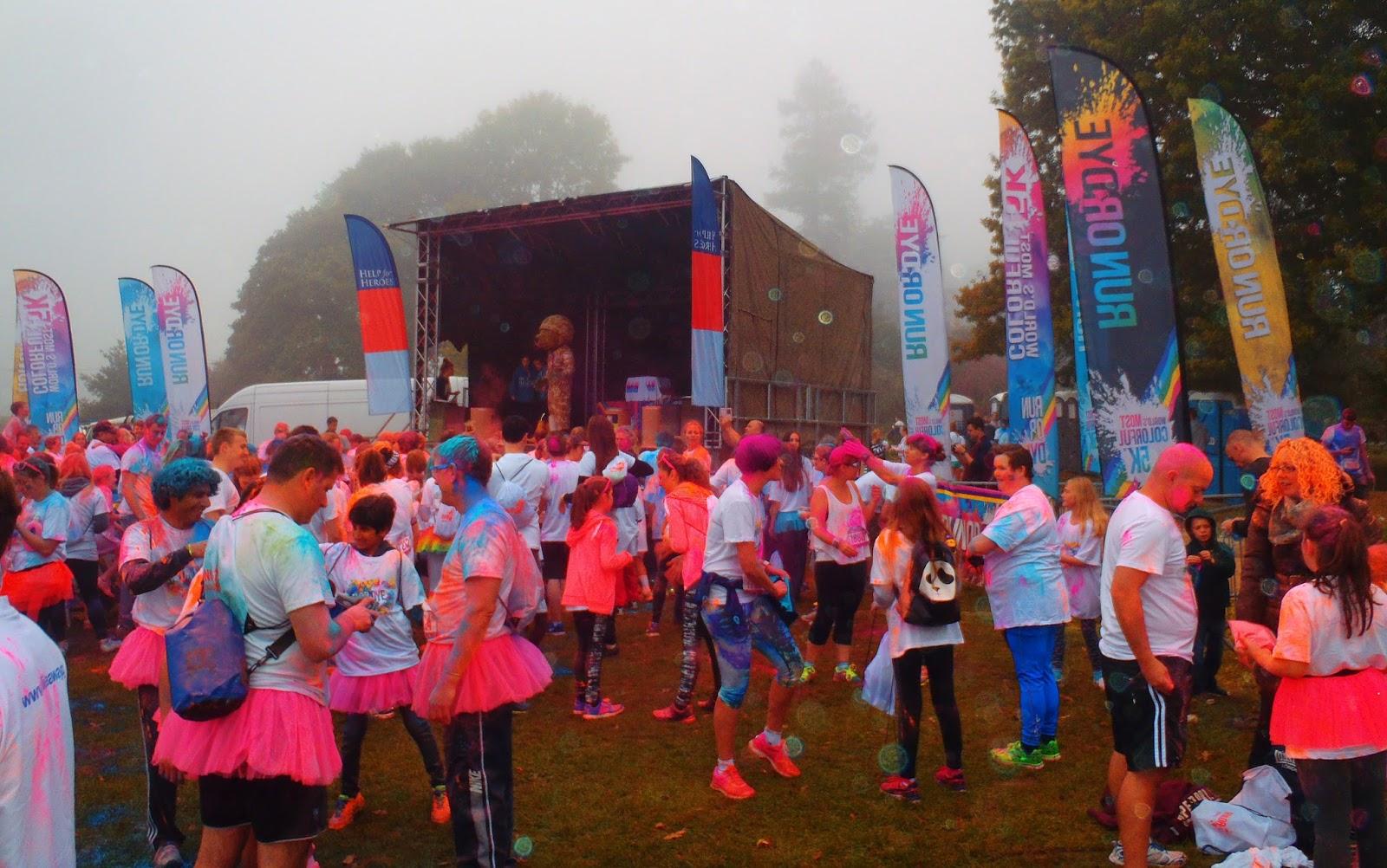 Run or Dye at Hever Castle