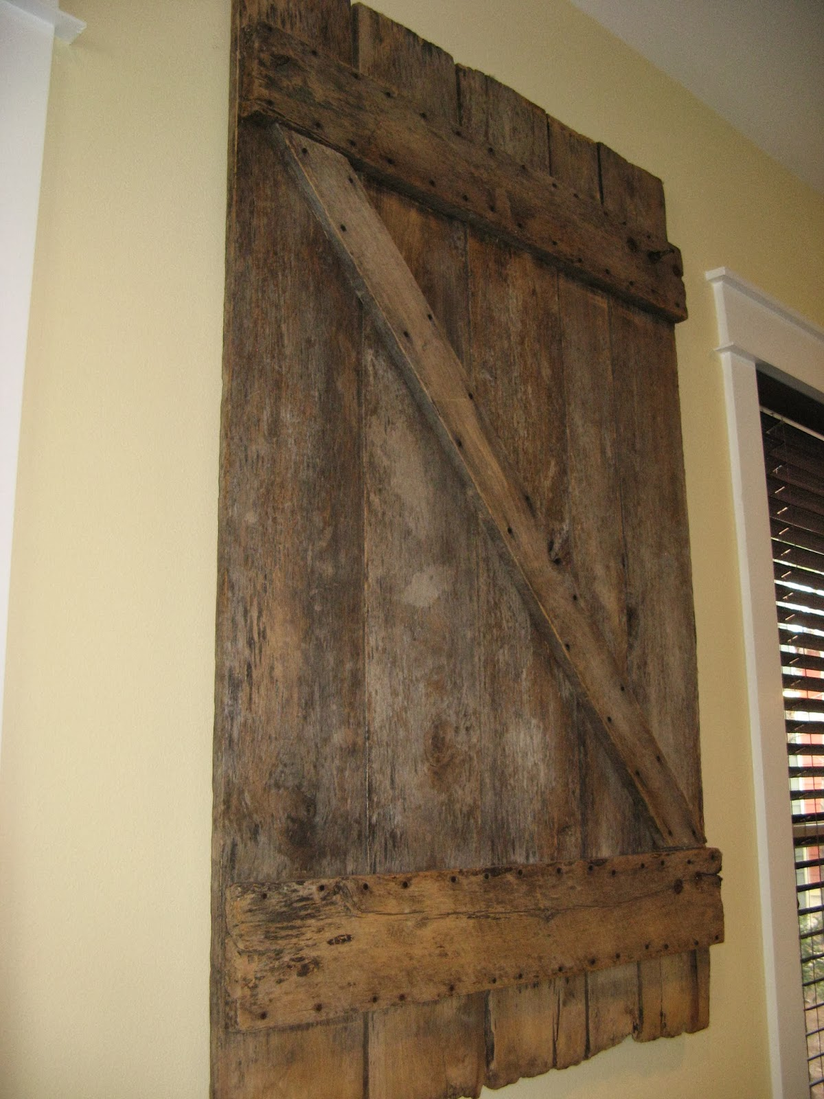 Susan Snyder: BARN DOOR WALL ART