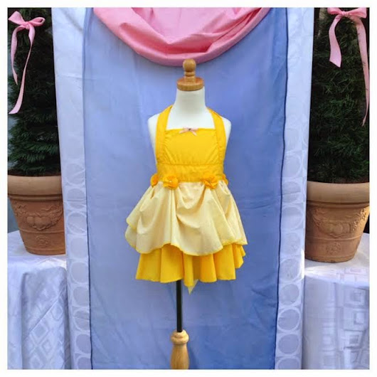 Girl's Disney Inspired Princess Aprons