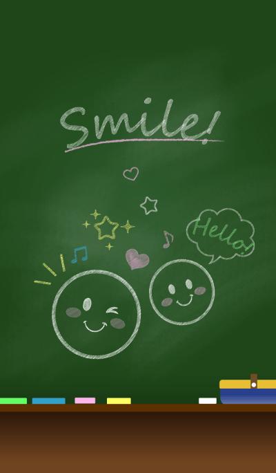 Smile on Blackboard