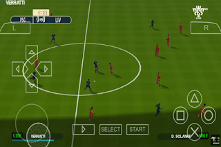 Download PES 2019 English Version V7 PPSSPP for Android