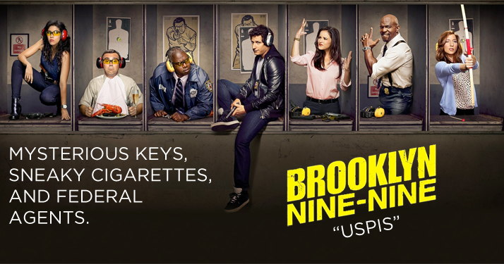 Brooklyn Nine-Nine - Episode 2 08 - USPIS - Review