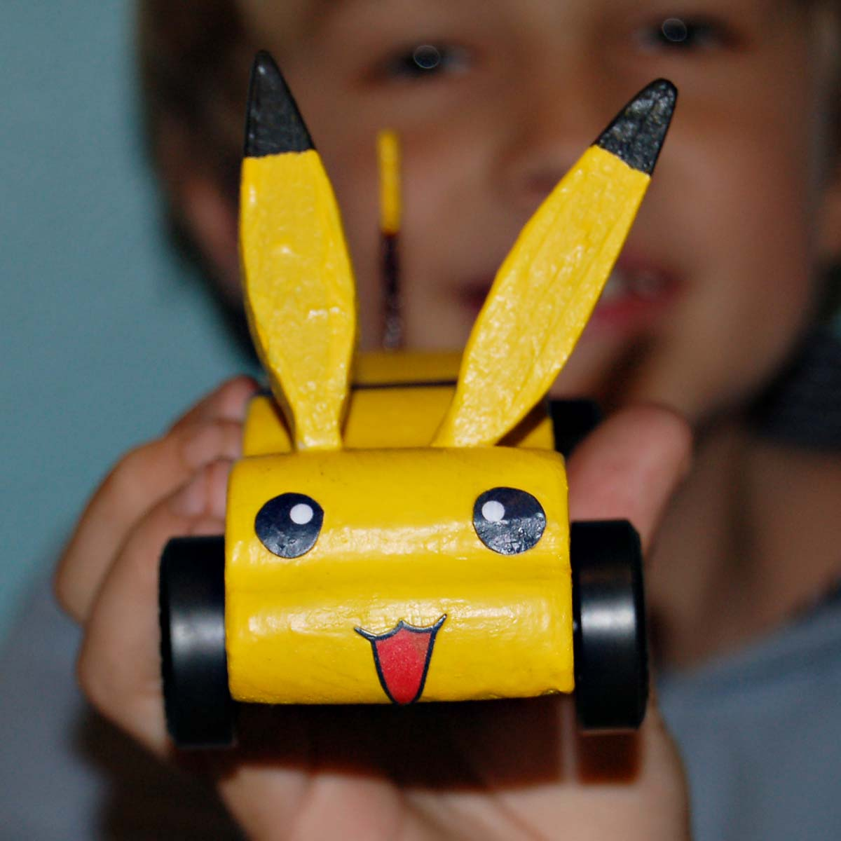 Loving Every Minute Of It.: Pikachu For The Pinewood Derby